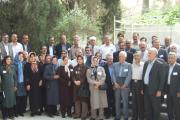 بازدید نمایندگان نهادها از آرامگاه زرتشتیان شیراز