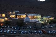 دورنمای پارس بانو در شب