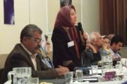 مهرانگیز موبد رستم شهزادی نماینده سازمان زنان زرتشتی