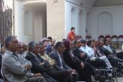 دیدار نمایندگان نهادها از روستای مبارکه تفت یزد
