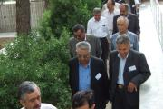 نمایندگان نهاد ها در آرامگاه شیراز