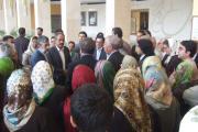 همکیشان در تالار آفتاب در دیدار با رییس مجلس