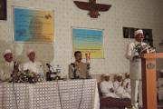 سخنرانی ها در میزگرد همایش موبدان