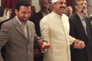 رییس مجلس و نماینده وزارت ارشاد در همایش