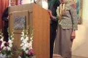بزرگداشت مادر جانباخته كامران گنجی در گردهمایی ورهرام روز