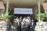 بازدید از بخش های گوناگون باز سازی شده بیمارستان فیروزگر تهران