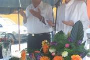 افتتاح پلاژهای ساخته شده در كوشك ورجاوند گیلان با همت انجمن زرتشتیان كرج