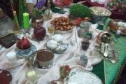 برپایی نمایشگاه سفره های نوروزی و نماد های آن در تالار خسروی تهران