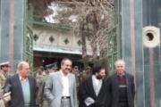 بزرگداشت مقام جان باخته جمشید گشتاسبی پس از سال ها مفقود شدن در آرامگاه قصر فيروزه