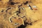 کشف گورهایی با تدفین طاقباز درگورستان وستمین کیاسر