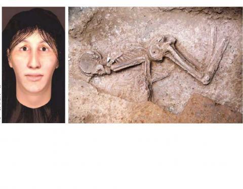 احتمال انتقال اسکلت هفت هزارساله به موزه ملی