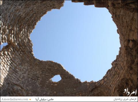 چهارتاقی ساسانی «تُل جنگی»٬ سازه ای استوار و پابرجا