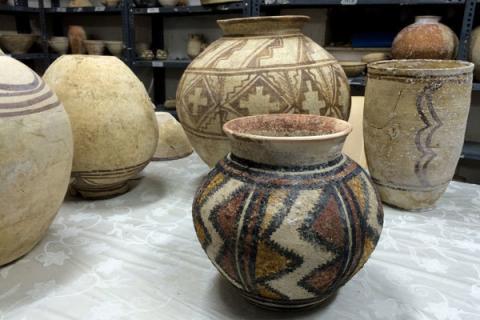 ثار کشف شده در مزار بانویی ثروتمند در شهر سوخته/ اجساد شگفتانگیز تاریخی!