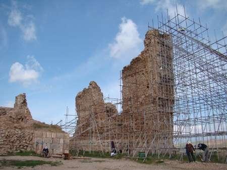 تازه های کشف شده از بزرگترین نیایشگاه ایرانیان پیش از اسلام