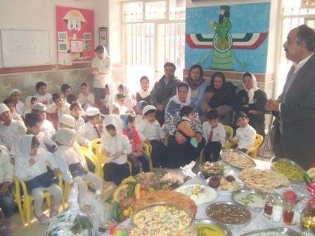دیدار از برنامه های خردسالان در مهد کودک دکتر بهرام پرورش تهران