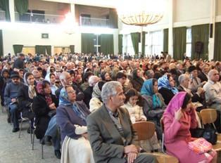 گرامیداشت جایگاه پیام آور آریایی،اشوزرتشت در جشن ششم فروردین همایشگاه مارکار تهرانپارس
