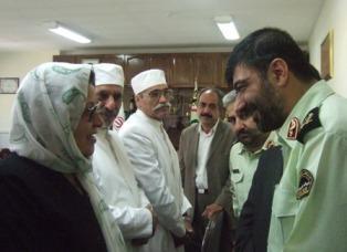 دیدار و سپاسگزاری ازفرماندهان پلیس تهران در هفته بزرگداشت نیروی انتظامی
