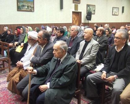 آیین بازگشایی کتابخانه اردشیر یگانگی پس از بازسازی توسط انجمن زرتشتیان تهران