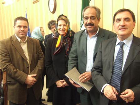 دیدار و گفتگو با برخی از اعضای هیات پارلمان اروپا در مجلس ایران