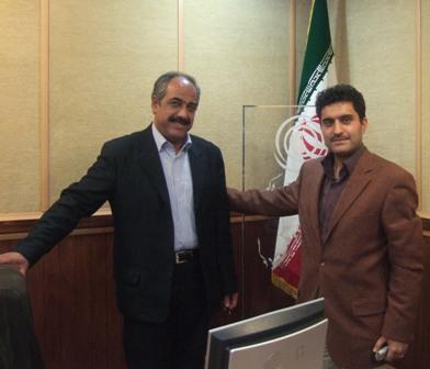 شرکت در استودیوی رادیو تهران و گفتگو پیرامون فلسفه شب چله ایرانی