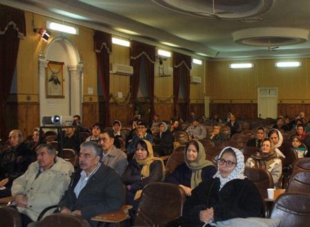 بزرگداشت بیست ونهمین سالگرد پیروزی انقلاب اسلامی ایران توسط انجمن موبدان و انجمن زرتشتیان تهران