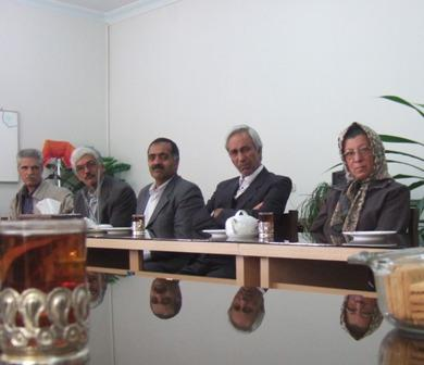 شرکت در جلسه شورای برنامه ریزی و توسعه استان یزد با حضور مدیران اجرایی استان